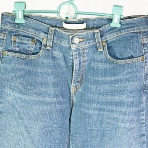 Levi's 515 Boot Cut Jeans Medium Wash Sz 10 Short